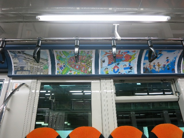 空中絵画展の様子1